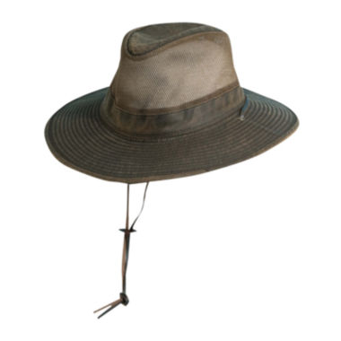 jcpenney.com | DPC™ Outdoor Design Weathered Outback Hat - Big