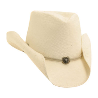 jcpenney.com | Scala™ Shapeable Toyo Western Straw Hat