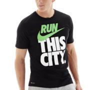 Nike® Run City Graphic Tee