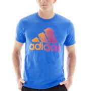 adidas®Digi Fade Logo Tee