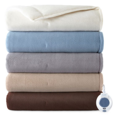 jcpenney.com | Safe and Warm™ Luxurious Micro Fleece Electric Warming Blanket