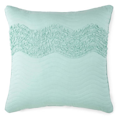 jcpenney.com | JCPenney Home™ Cotton Classics Ruffle Euro Pillow