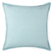 JCPenney Home™ Cotton Classics Chevron Reversible Euro Pillow