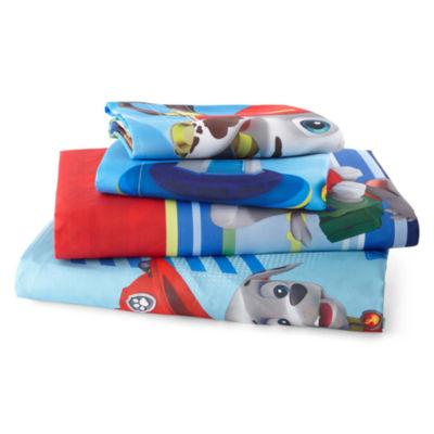 paw patrol hero twin/full reversible comforter + bonus sham