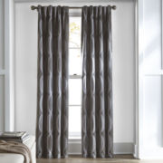 Studio™ Brooklyn Rod-Pocket/Back-Tab Room Darkening Curtain Panel