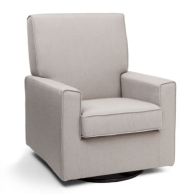 jcpenney.com | Delta Children's Products™ Eva Upholstered Glider - Taupe