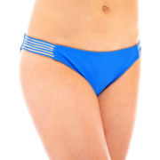 Arizona Strappy Low-Rise Hipster Swim Bottoms - Juniors