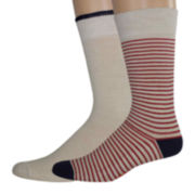 Dockers® 2-pk. Cushioned Comfort Crew Socks
