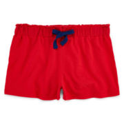 Okie Dokie® Solid Easy Shorts - Toddler Girls 2t-5t
