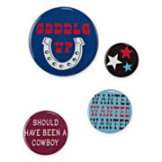 4-pc. Cowboy Handbag Pin Set