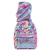 Confetti Grafitti Hooded Backpack