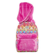 Confetti Cupcake Hooded Backpack