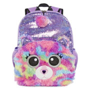 Mystic Rainbow Critter Plush Backpack