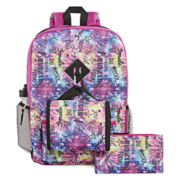 Mystic Scribble 5-pc. Backpack Set