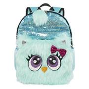 Mystic Mint Owl Critter Plush Backpack