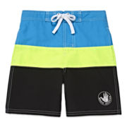 Body Glove® Colorblock Swim Trunks - Preschool Boys 4-7