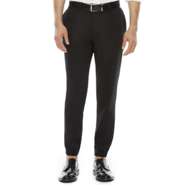 jcpenney.com | iTailored by Buffalo Flat-Front Jogger Pants