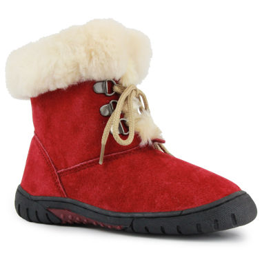 jcpenney.com | Lamo Bianca Girls Suede Lace-Up Boots - Little Kids/Big Kids Shoes