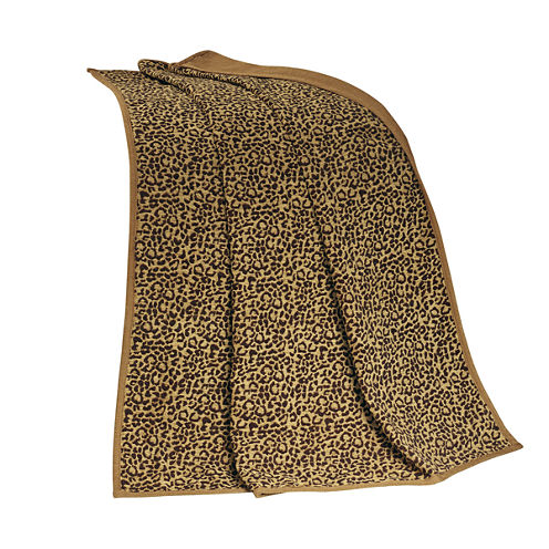 HiEnd Accent San Angelo Leopard Throw