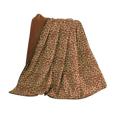 jcpenney.com | HiEnd Accent Austin Cheetah Throw with Fringe