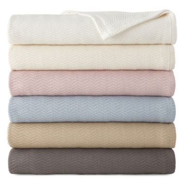 jcpenney.com | Royal Velvet® Egyptian Cotton Blanket