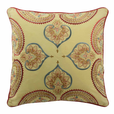 "jcpenney.com | Waverly Swept Away 18"" Square Decorative Pillow"