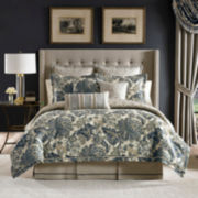 Croscill Classics® Blue & Cream Jacobean 4-pc. Comforter Set