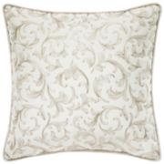Croscill Classics® Blue & Cream Jacobean Fashion Decorative Pillow