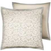 Croscill Classics® Blue & Cream Jacobean Euro Sham