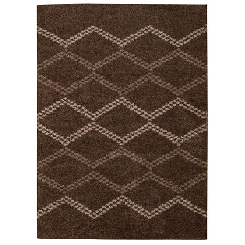 Nourison® Franklin Rectangular Shag Rug