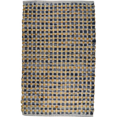 jcpenney.com | Park B Smith™ Cotton and Jute Checkered Rectangular Rug