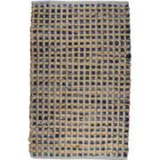 Park B Smith™ Cotton and Jute Checkered Rectangular Rug