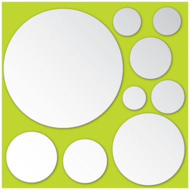 jcpenney.com | Brewster Dots Mirror Art Decal- Set of 18