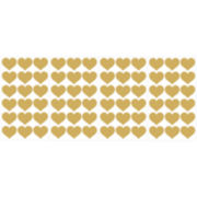 WallPops!® Gold Heart MiniPops 72-pc. Peel-and-Stick Wall Decals