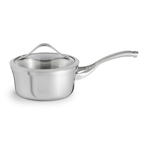 Calphalon® Contemporary Stainless Steel 1.5-qt. Covered Sauce Pan