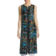 nicole by Nicole Miller® Sleeveless Duster Top