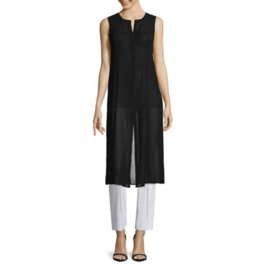 jcpenney.com | nicole by Nicole Miller® Sleeveless Duster Top and Slim Fit Ankle Pants