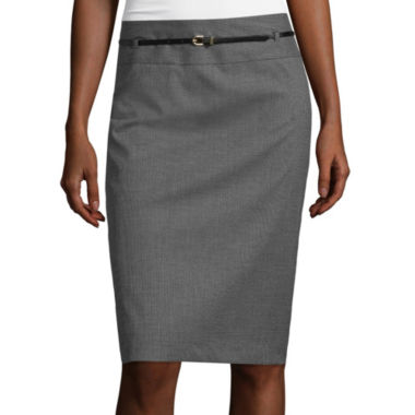 jcpenney.com | Liz Claiborne® Belted Pencil Skirt