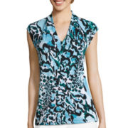 Liz Claiborne® Sleeveless Knit Top