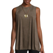 Alyx® Sleeveless Suede Top