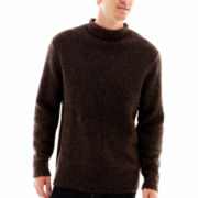 Claiborne Marled Roll-Neck Sweater