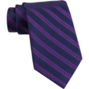 Claiborne® Tonal Stripe Silk Tie