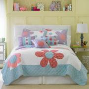 Petals Floral Quilt & Accessories