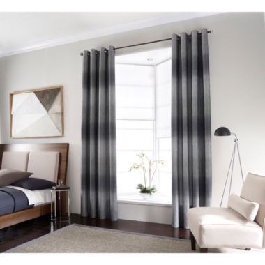jcpenney.com | Studio™ Dakota Two-Tone Lined Grommet-Top Curtain Panel