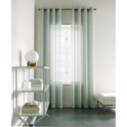 Studio™ Wave Sheer Grommet-Top Curtain Panel