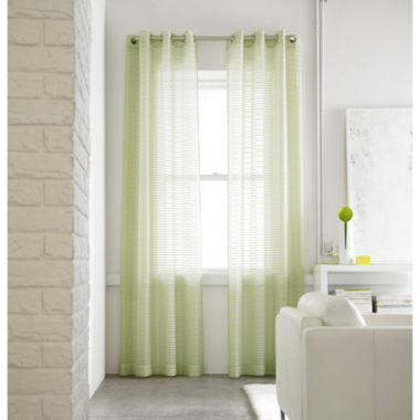 jcpenney.com | Studio™ Rizzo Grommet-Top Sheer Panel