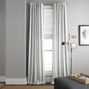 Royal Velvet® Arden Stripe Back-Tab Curtain Panel