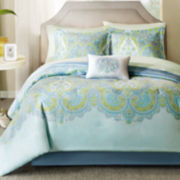 Madison Park Carly 9-pc. Complete Bedding Set with Sheets