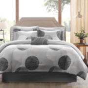 Madison Park Glendale 9-pc. Complete Bedding Set with Sheets