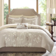 Madison Park Sonora 9-pc. Complete Bedding Set with Sheets